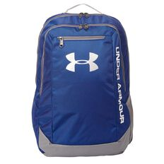 Under Armour Hustle Backpack Grey & White