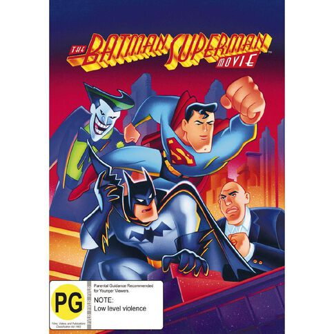 Batman And Superman The Movie DVD 1Disc