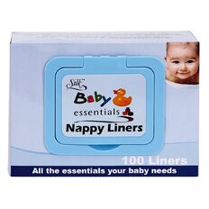 Silk Nappy Liners 100 Pack