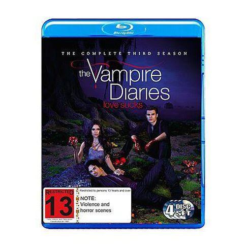 Vampire Diaries Season 3 Blu-ray 4Disc