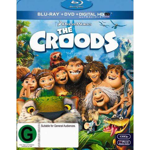 The Croods Blu-ray + DVD 2Disc
