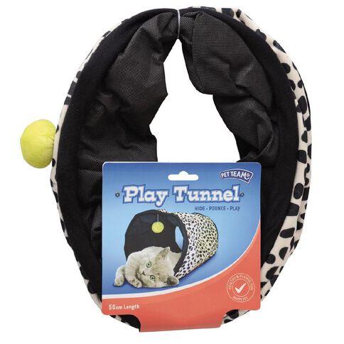 Pet Team Cat Play Tunnel