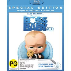 Boss Baby 3D Blu-ray 2Disc