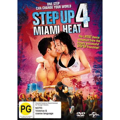 Step Up 4 DVD 1Disc