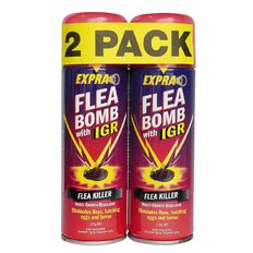 Expra Flea Bomb with IGR 125g twin pack