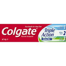 Colgate Triple Action Toothpaste 160g