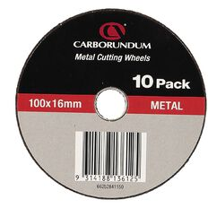 Carborundum Cutting Discs 115mm  x 22mm 10 Pack