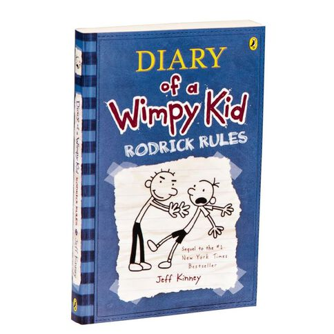 Diary of a Wimpy Kid #2 Rodrick Rules by Jeff Kinney