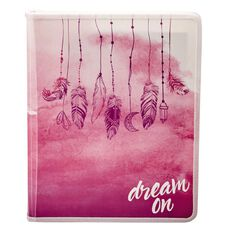 Paper Scissors Rock Zip Folder Dreamcatcher A4