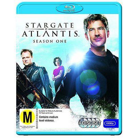 Stargate Atlantis S1 Blu-ray 4Disc