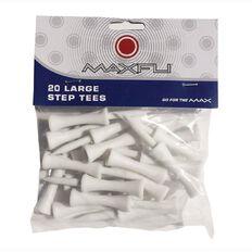 Maxfli Large Step Tees 20 Pack