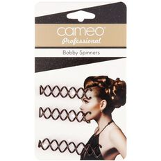 Cameo Professional Bobby Spinners Brunette 3 Pack
