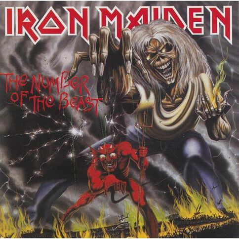 Number of The Beast CD by Iron Maiden 1Disc