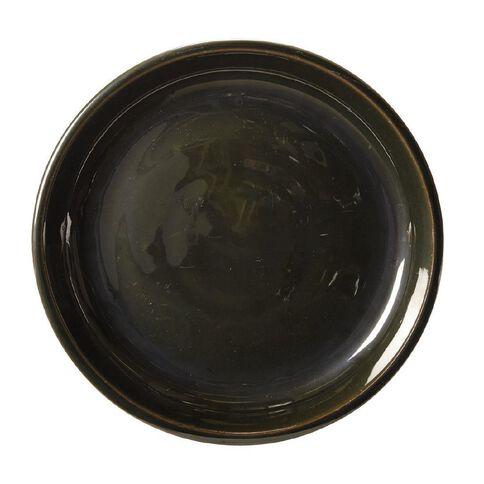 Green Round Saucer 30cm