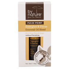 By Nature Essential Oil Pulse Point Energize & Focus 10ml