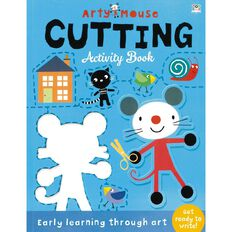 Arty Mouse Cutting Activity Book by Mandy Stanley