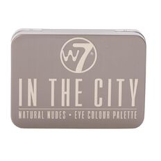 W7 In The City Natural Nudes Eyeshadow Palette 6 Colours