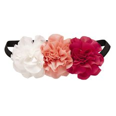 A'nD Flower Elastic Headband