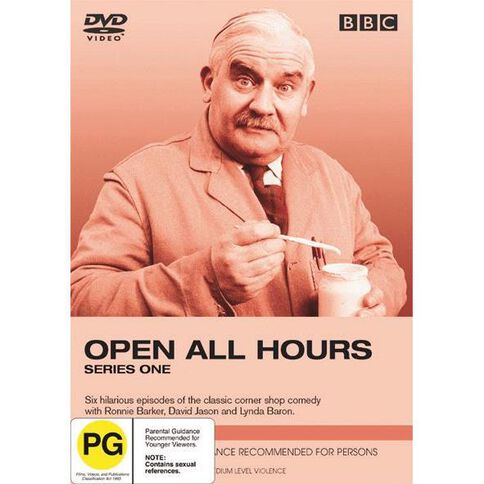 Open All Hours Series 1 DVD 1Disc