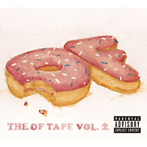 The Of Tape Volume 2 CD by Odd Future 1Disc