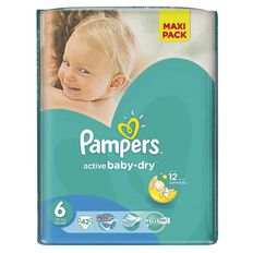 Pampers Nappies Size 6 42 Pack 15+ kg