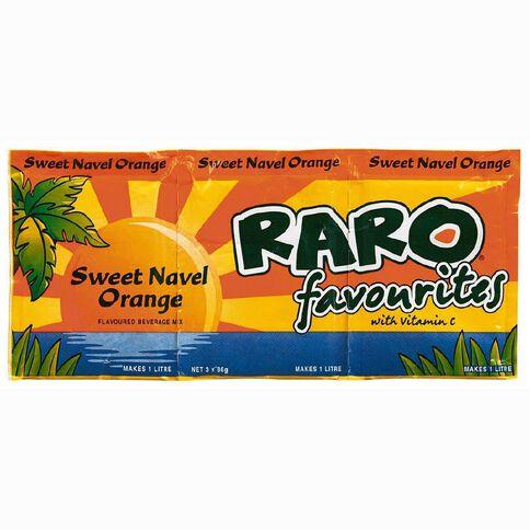 Raro Sweet Navel Orange 3 Pack