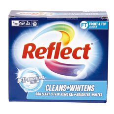 Reflect Laundry Powder Whitens Box 1kg