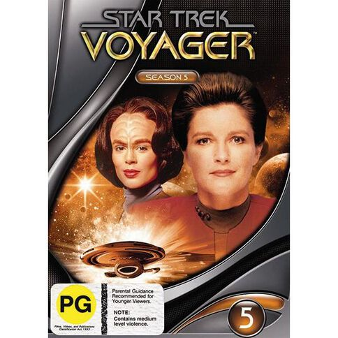 Star Trek Voyager Season 5 DVD 1Disc