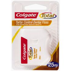 Colgate Total Dental Floss Tartar Control 25m