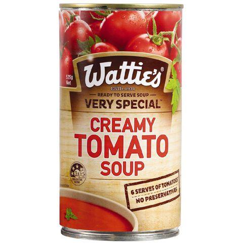 Wattie's Very Special Creamy Tomato Soup 535g