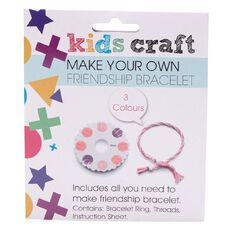 Kids' Art & Craft Make Your Own Friendship Bracelet