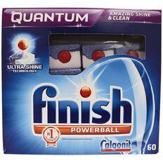 Finish Auto Dishwasher Tabs Quantum Max Regular 60 Pack