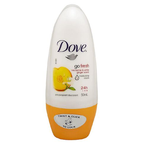 Dove Roll On Deodorant Nectarine and Ginger 50ml