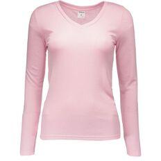Basics Brand Women's Thermal Polyviscose Long Sleeve Top