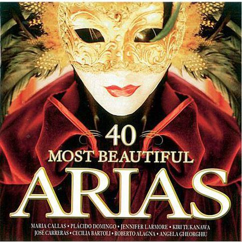 40 Most Beautiful Arias CD by Various Artists 1Disc