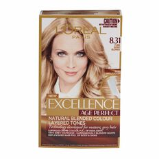 L'Oreal Paris Excellence Age Perfect Pure Beige Blonde 8.31