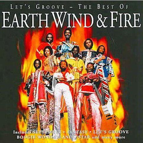 Lets Groove The Best of CD by Earth Wind & Fire 1Disc