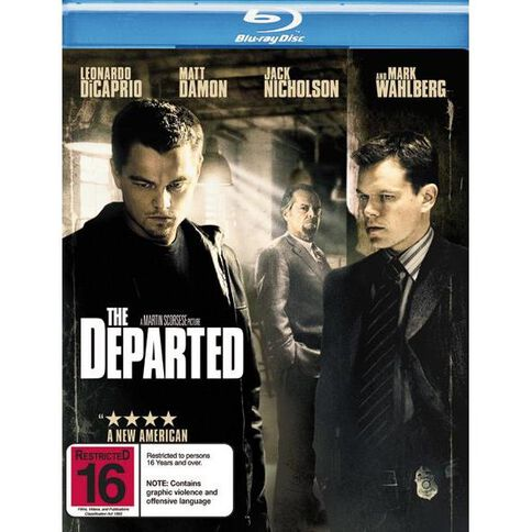 The Departed Blu-ray 1Disc