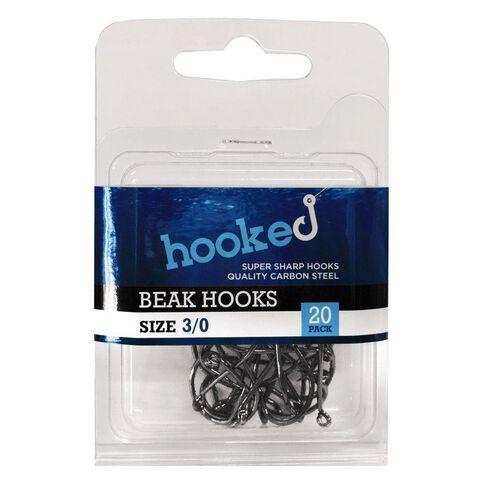 Hooked Beak Hook 3/0 20 Pack