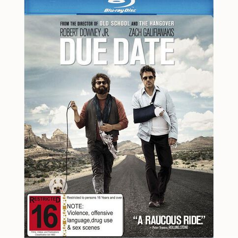 Due Date Blu-ray 1Disc