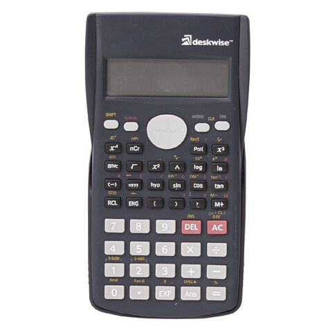 Deskwise Scientific Calculator Grey