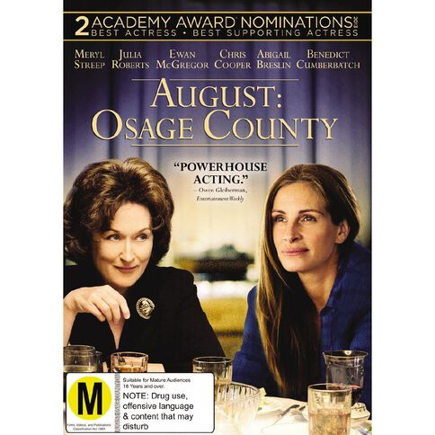August Osage County DVD 1Disc