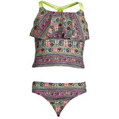 Beach Works Girls' Knot Tankini