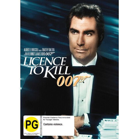 Licence To Kill 2012 Version DVD 1Disc