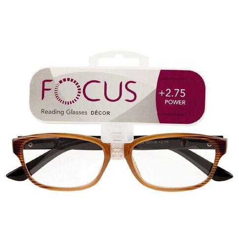 Focus Reading Glasses Decor 2.75