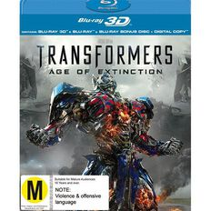 Transformers 4 Age of Extinction 3D Blu-ray 3Disc