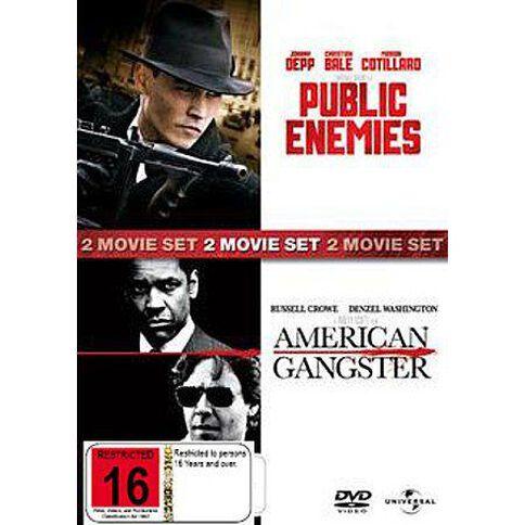 Public Enemies/American Gangster DVD 2Disc