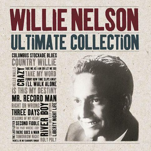 Ultimate Collection CD by Willie Nelson 2Disc
