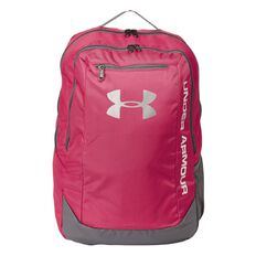 Under Armour Hustle Backpack Pink & White