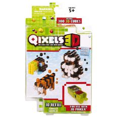 Qixels 3D Theme Pack Assorted